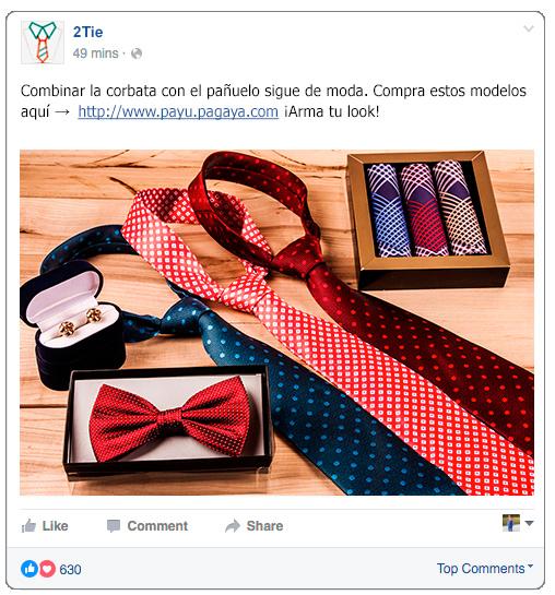 vender por facebook